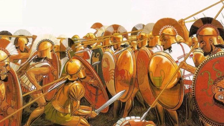 Lanceros romanos del siglo VIII a. C.