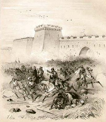 Emperor_Louis_II_before_Bari