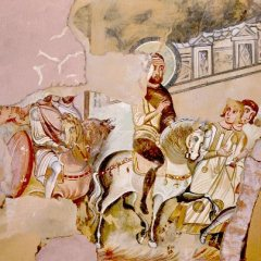 Duca Giorgio, Ravenna e Giustiniano II