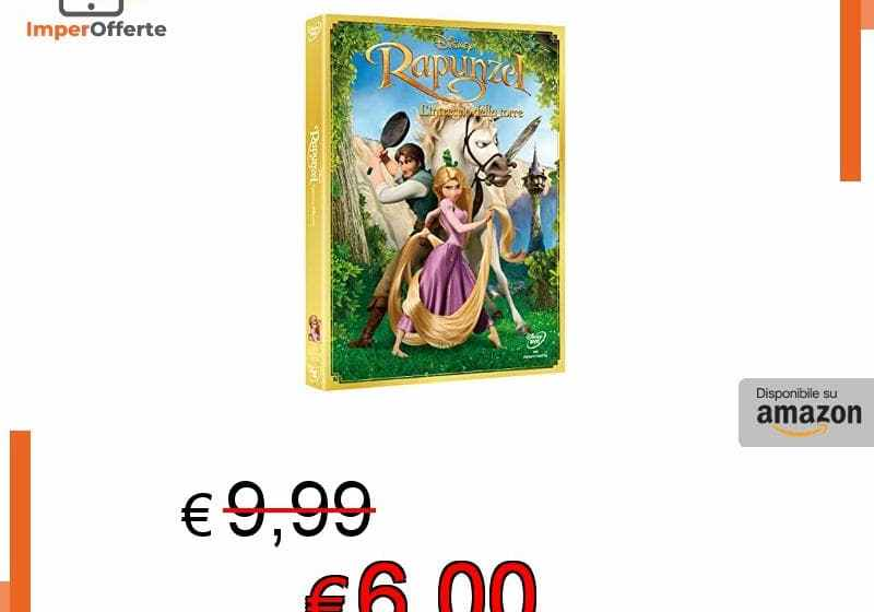 Videosystem 54200 Rapunzel Intrecci della Torre DVD Disney