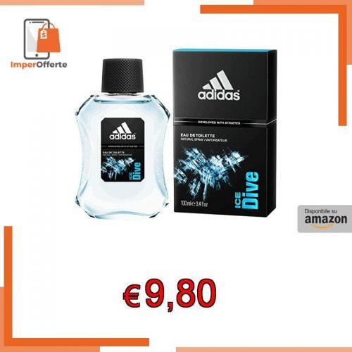 Adidas – Eau de Toilette Ice Dive – Profumo Uomo Spray 100 ml