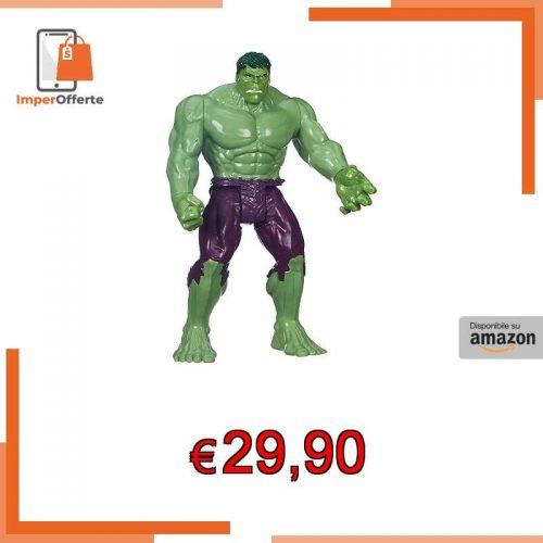 Hasbro Marvel Avengers- The Avengers B0443EU4-Personaggio Giocatolo, Altezza 30 cm, Multicolore, B0443