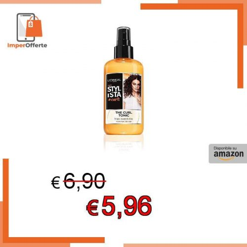 L'Oréal Paris Stylista Curls Spray Capelli per Ricci Definiti ed Elastici