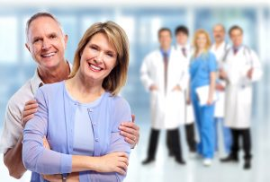 Happy patients