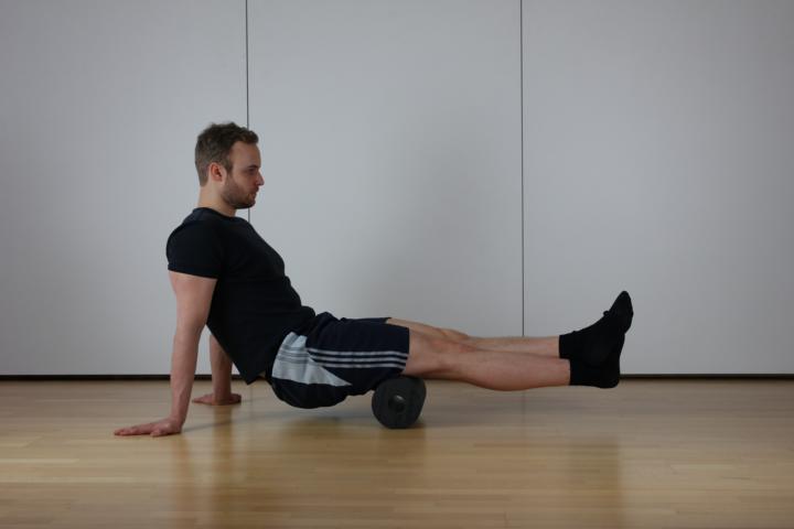 Übung zur Spannungslösung des Beinbeugers