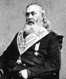 Albert Pike, 33rd Degree Scottish Rite Sovereign Grand Commander