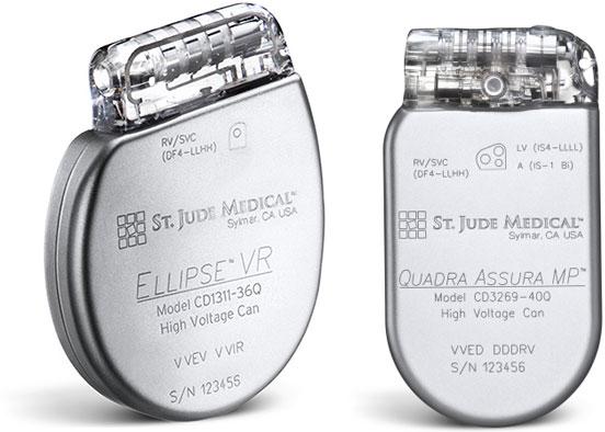 FDA Approves St Judes Ellipse and SJM Assura Portfolio