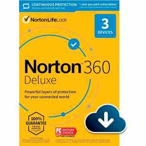 Norton 360 Deluxe 3 Devices