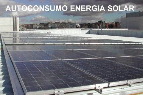 Autoconsumo fotovoltaico en nave Industrial Valencia