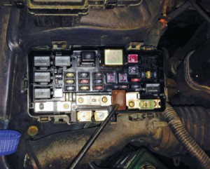 1997 honda civic ex fuse box diagram wiring for chevy truck tail lights electrical system diagnostics the eld unit is easy to access in underhood