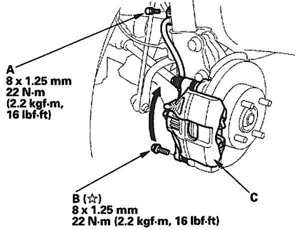 Brake Job on 2000-2006 Honda Insight