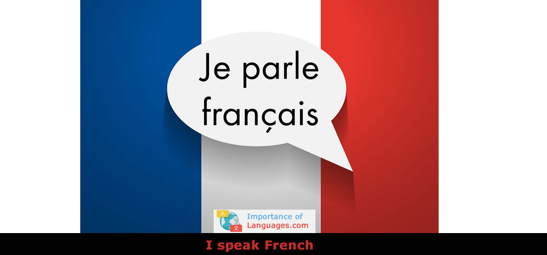 I speak French?
