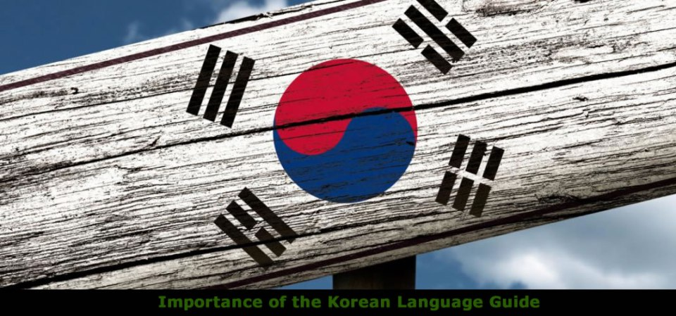 Importance of Korean Language