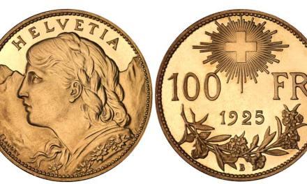"Schweiz diskutiert über ""Gold Franken"""