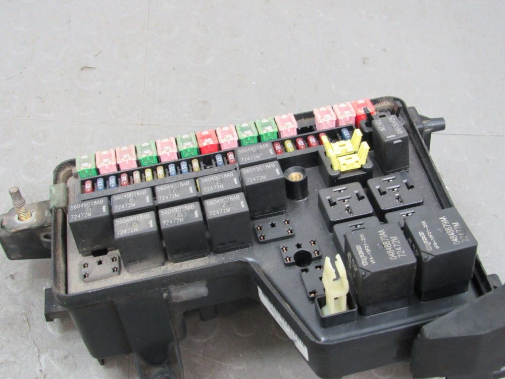 medium resolution of 02 03 dodge ram integrated power distribution module fuse box 2006 dodge ram 2500 fuse box