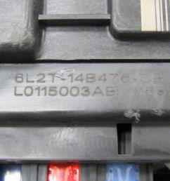 06 explorer mountaineer 07 sport trac bcm sjb smart fuse box 6l2t smart car fuse box [ 1600 x 1200 Pixel ]