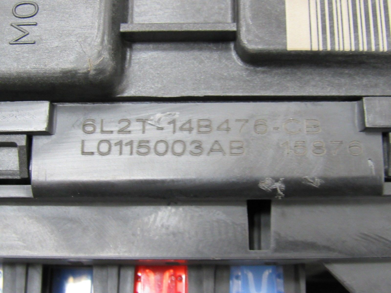 hight resolution of 06 explorer mountaineer 07 sport trac bcm sjb smart fuse box 6l2t smart car fuse box