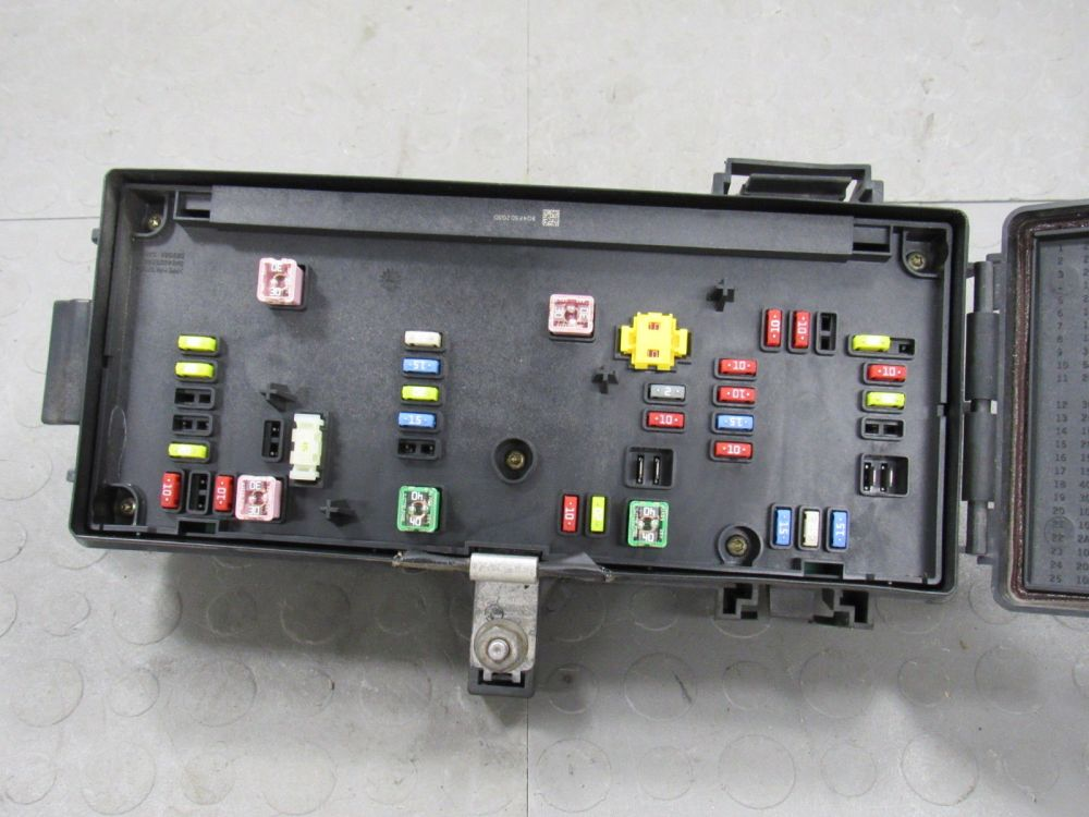 medium resolution of 07 dodge ram tipm totally integrated power module fuse box block 04692117ah b