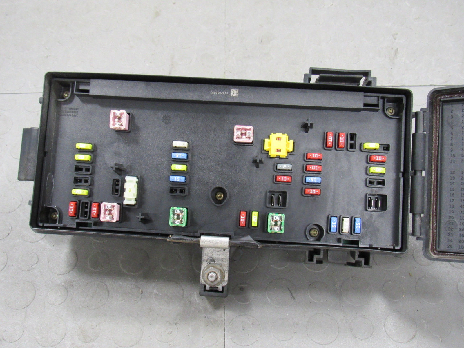 hight resolution of 07 dodge ram tipm totally integrated power module fuse box block 04692117ah b