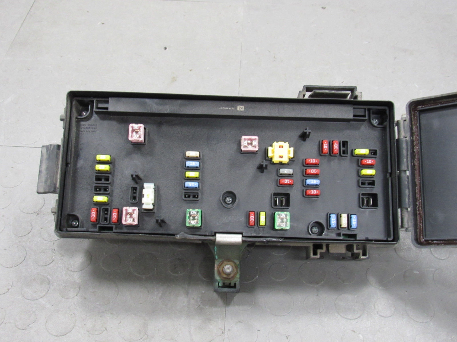 hight resolution of 08 09 dodge ram tipm totally integrated power module fuse box 68028002ab g