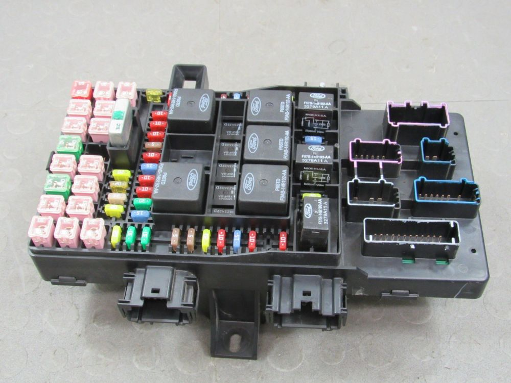 medium resolution of 04 expedition navigator interior fuse relay box block center 4l7t 14a067 ae ac
