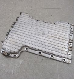 03 05 land rover range rover 4 4l m62 lower aluminum engine oil cover pan oem b [ 1600 x 1200 Pixel ]