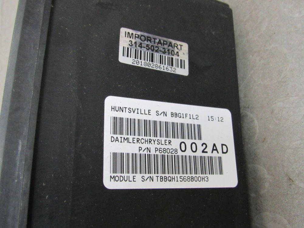 medium resolution of 08 09 dodge ram tipm totally integrated power module fuse box 68028002ad f importapart