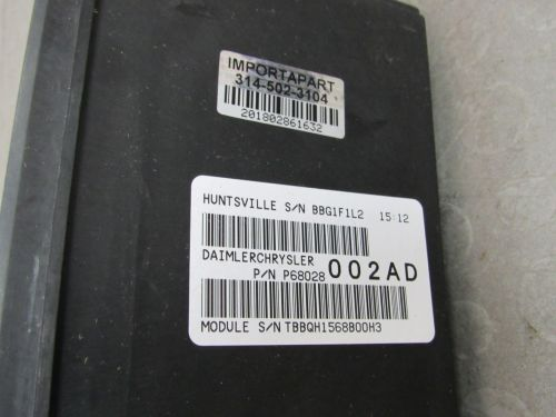 small resolution of 08 09 dodge ram tipm totally integrated power module fuse box 68028002ad f importapart