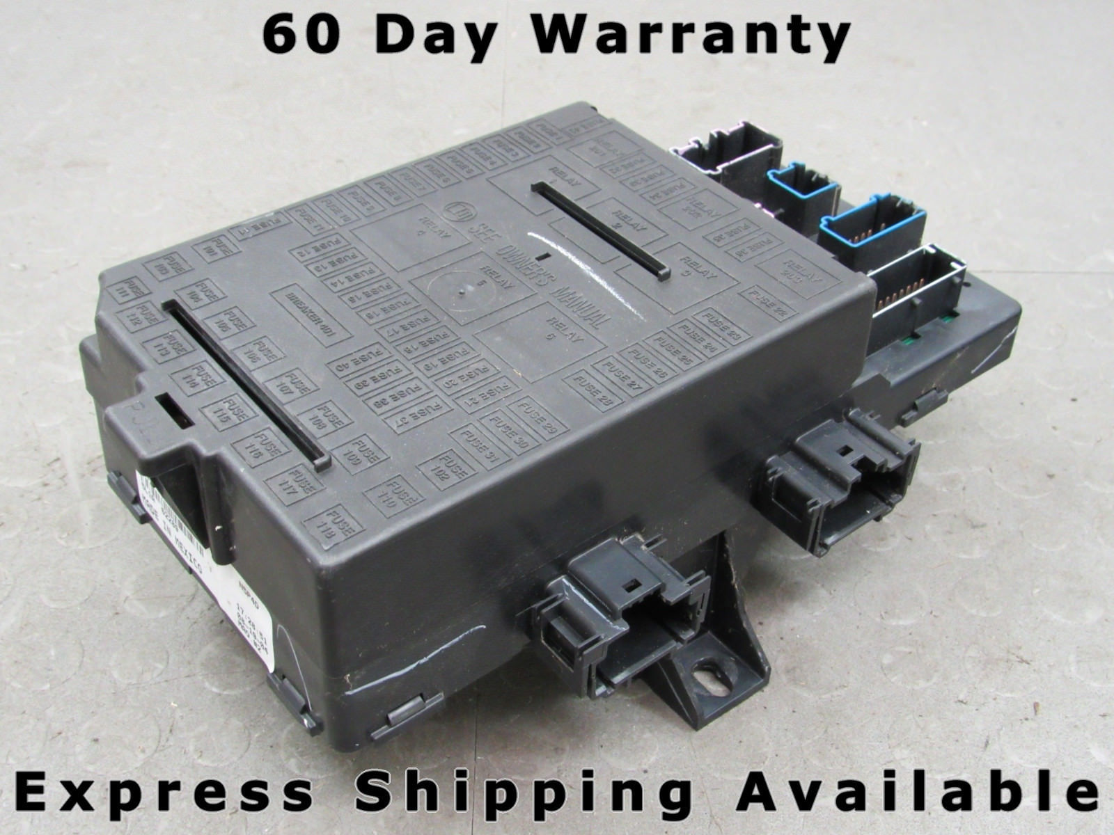 hight resolution of 05 expedition navigator interior fuse relay box block center 5l1t 14a067 ac ad