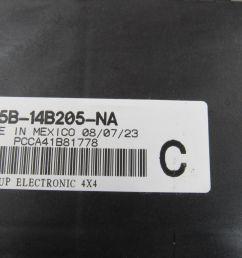 98 ford f 150 f 250 4 4 bcm gem multifunction fuse relay box f85b [ 1600 x 1200 Pixel ]