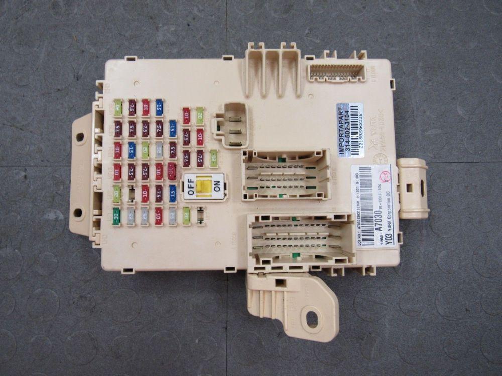 medium resolution of 14 16 kia forte koup forte5 interior cabin fuse box junction block 91950 a7030