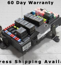 02 ford f250 f350 under dash fuse box junction relay block 2c7t 14a067 ap x [ 1600 x 1200 Pixel ]