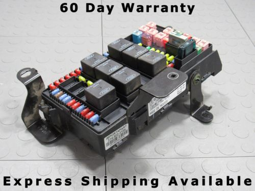 small resolution of 02 ford f250 f350 under dash fuse box junction relay block 2c7t 14a067 ap x