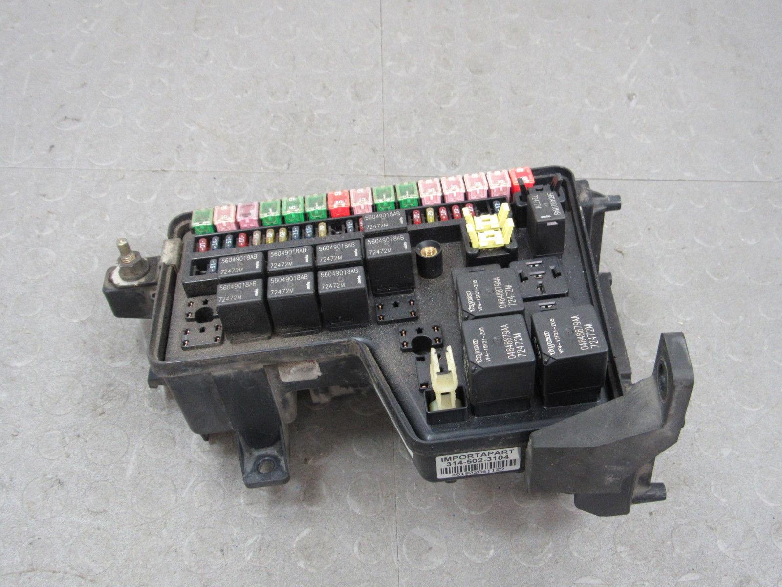 hight resolution of 02 03 dodge ram truck integrated power module fuse box block 1996 dodge dakota fuse box