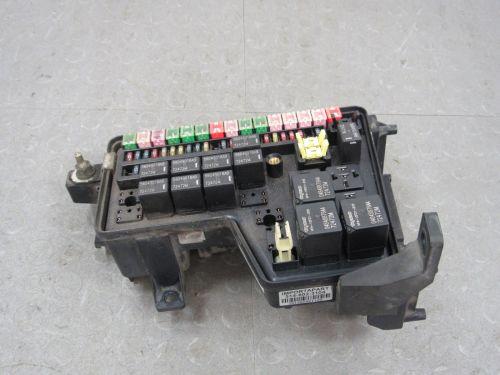 small resolution of 02 03 dodge ram truck integrated power module fuse box block 1996 dodge dakota fuse box