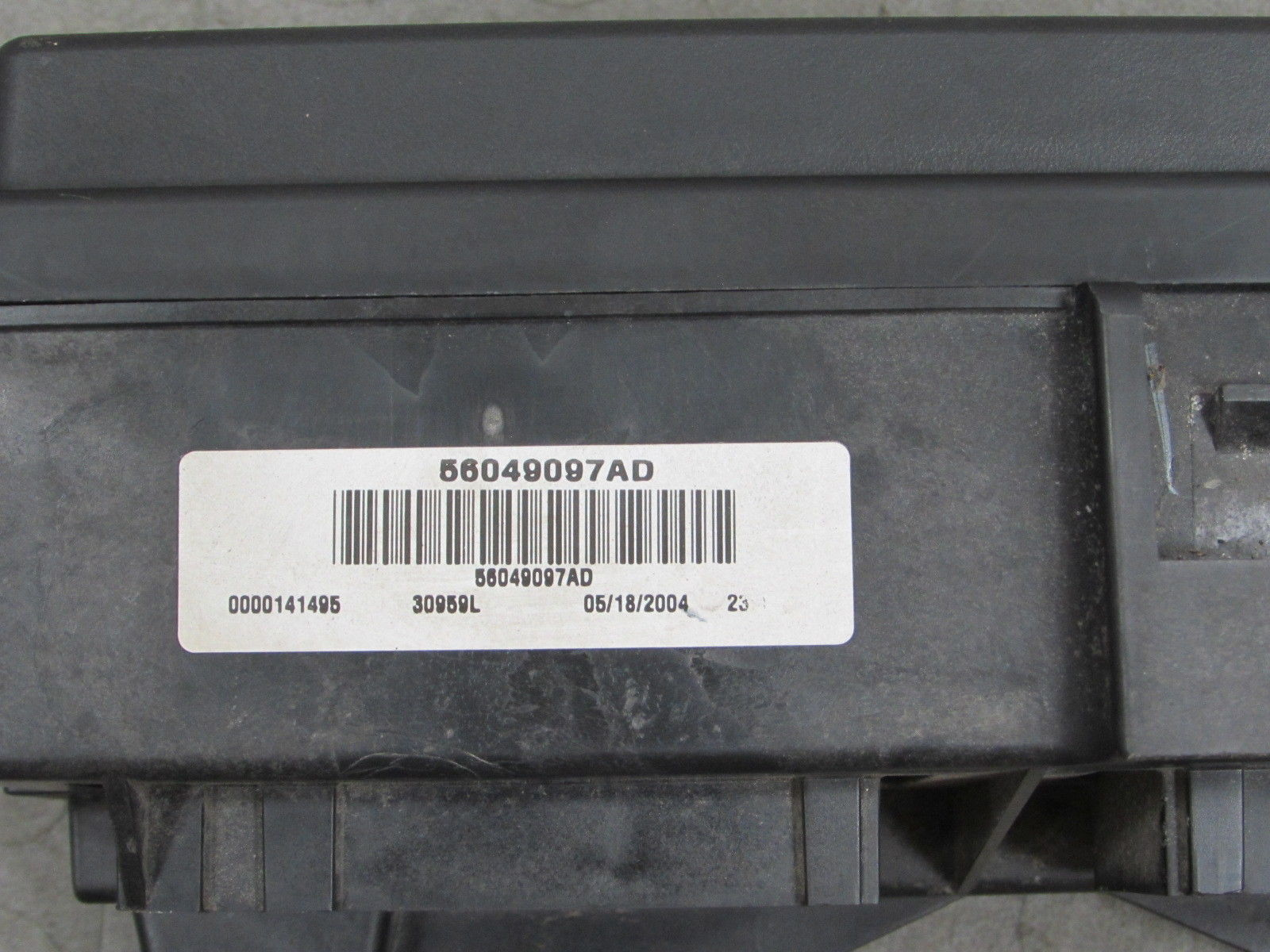 hight resolution of 04 05 dodge durango integrated power module fuse box block 56049097ad u importapart