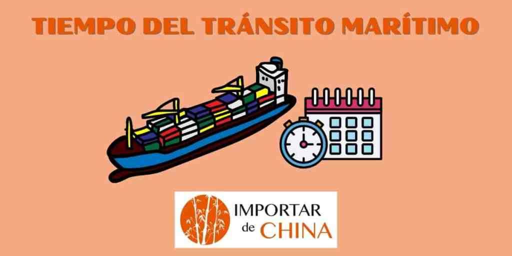 Tiempo del tránsito marítimo
