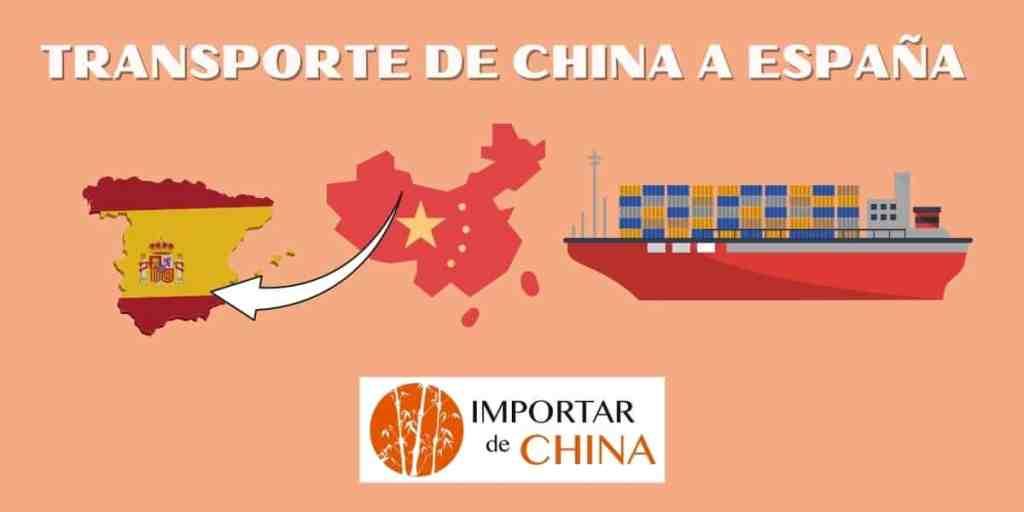 Transporte de China a España