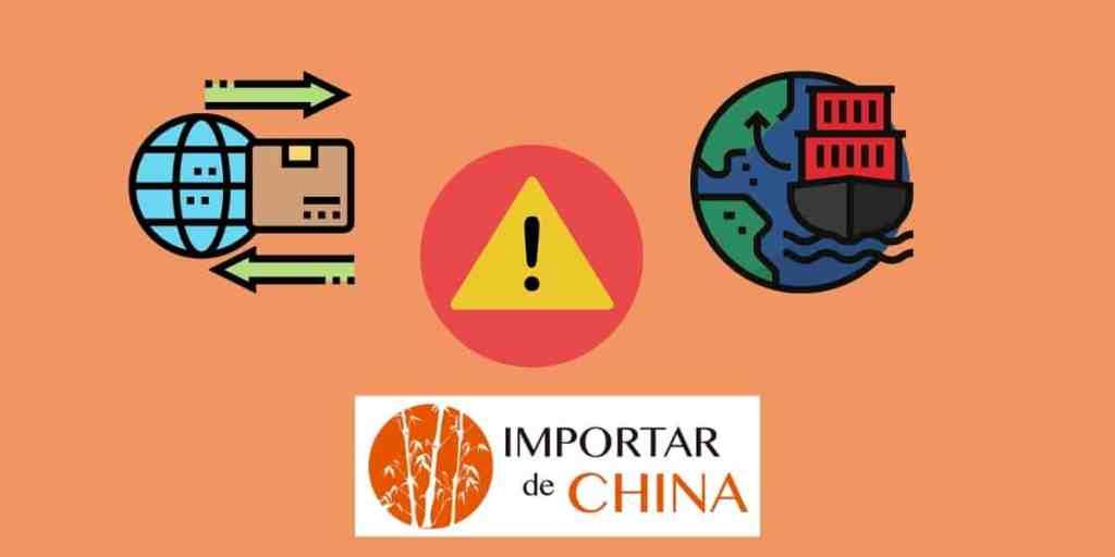 Errores con la mercancía de China