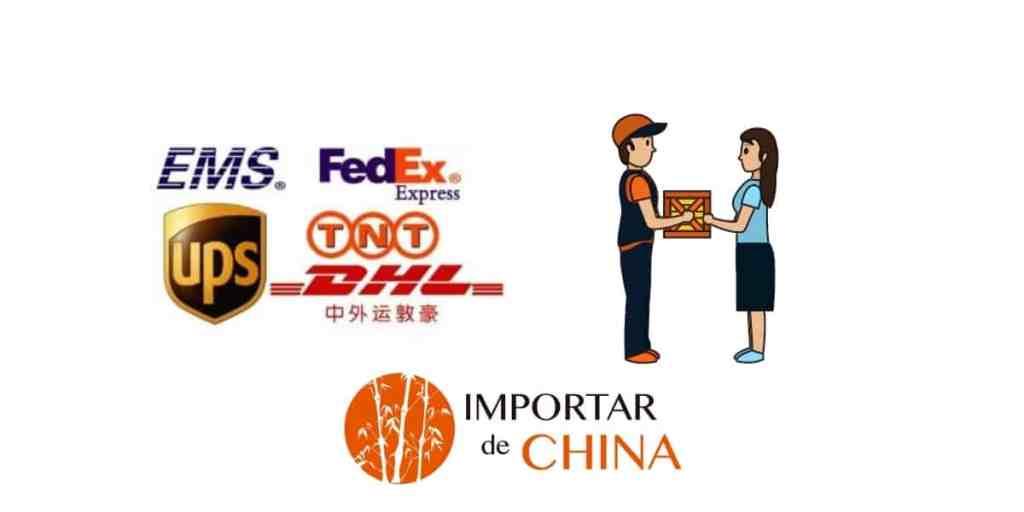 Importar de China mensajería