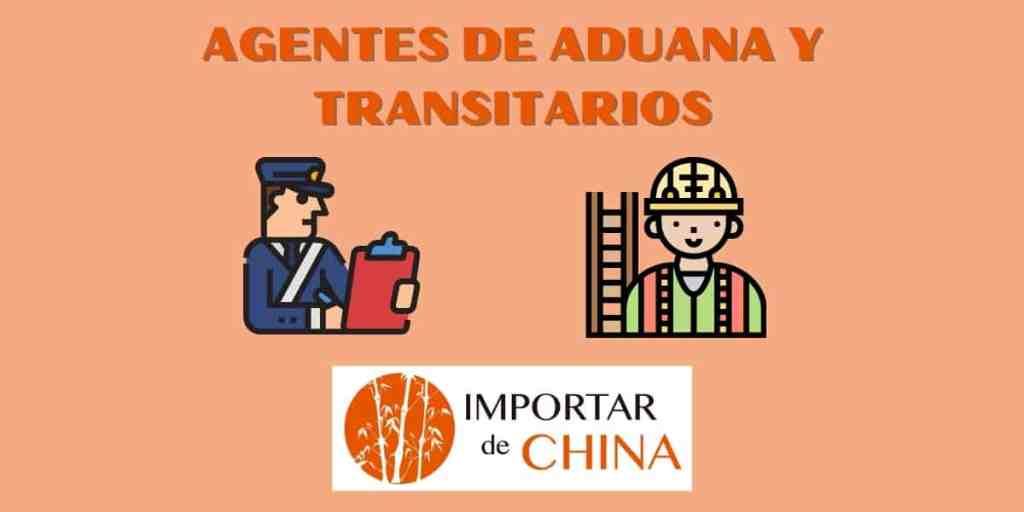 Agentes de aduana y transitarios