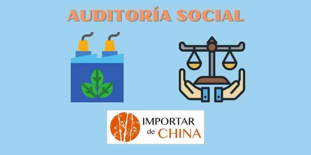 Auditoría social de empresa en China