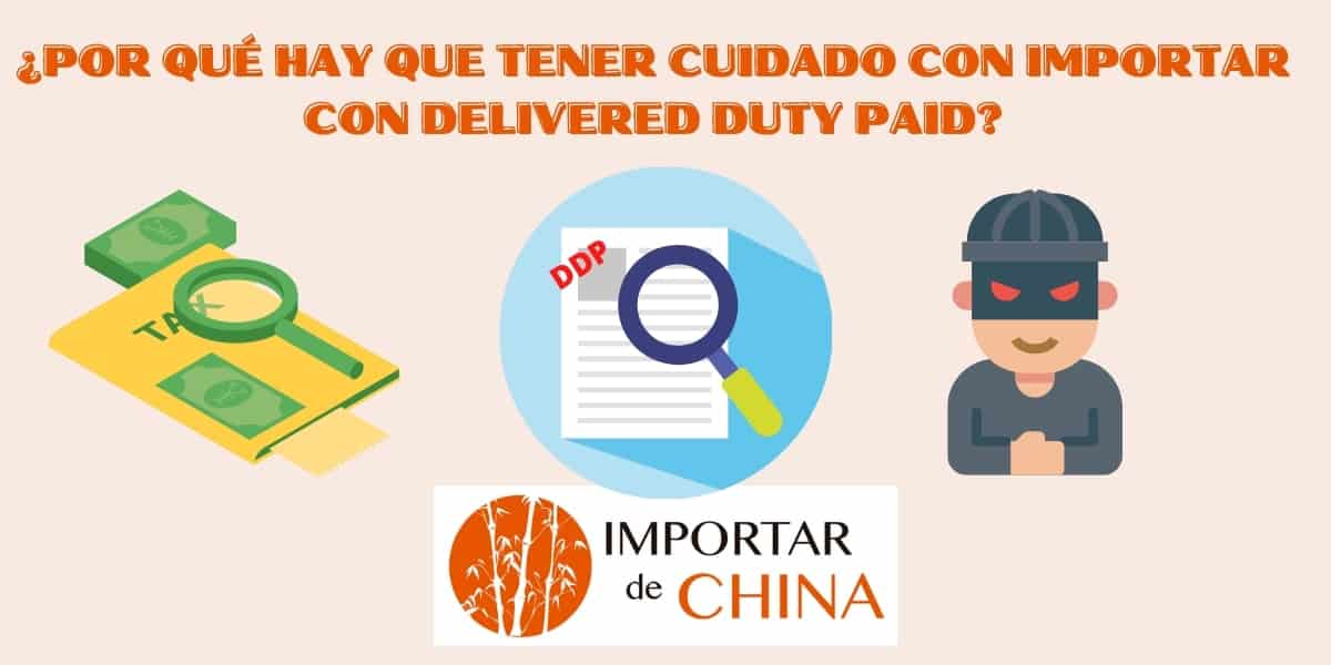 DDP importar China Delivered-Duty-Paid