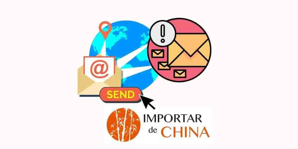 El proveedor chino no responde a los emails
