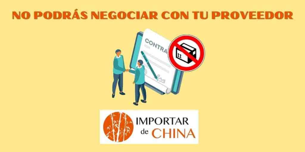 Negociar con tu proveedor chino