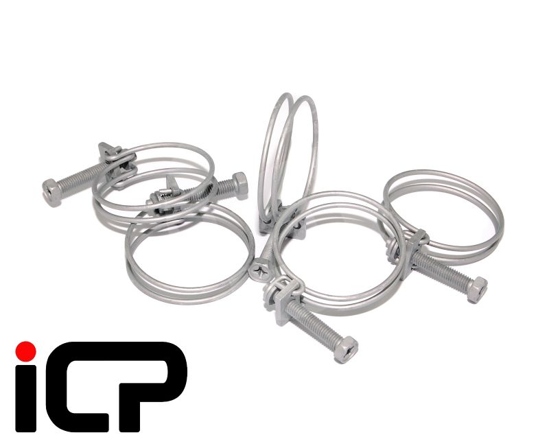 2x Genuine Radiator Hose Clip Clamps Fits: Subaru Impreza