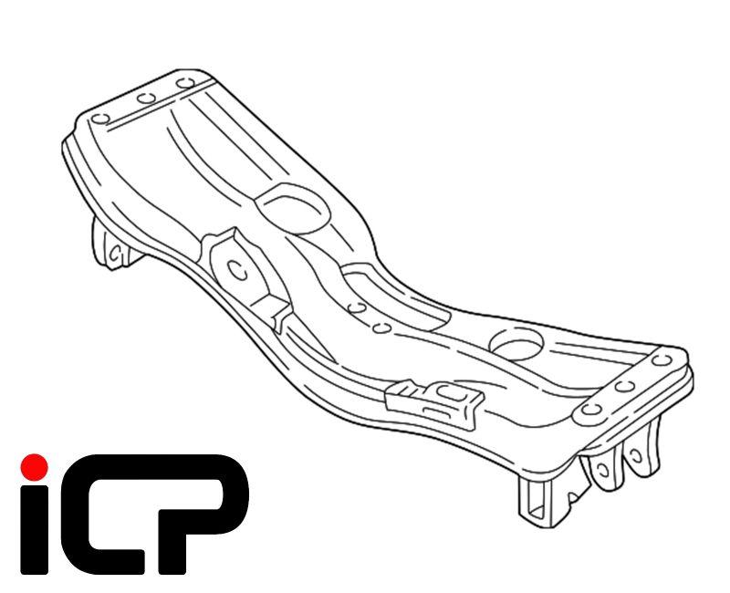 Front Engine Bed Subframe Fits: Subaru Impreza Turbo 92-00