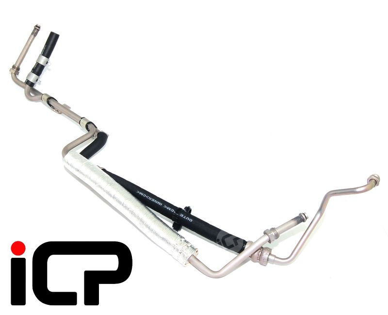 Power Steering Pump To Rack Hose Assembly Fits: Subaru