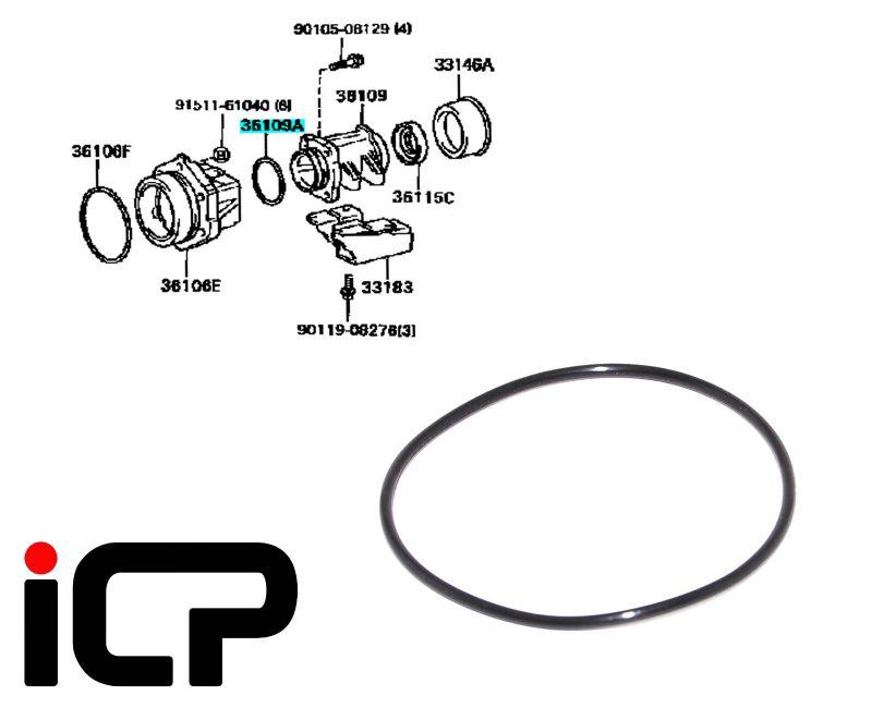 Genuine Transfer Box Rear O-Ring 90301-63005 Fits: Toyota
