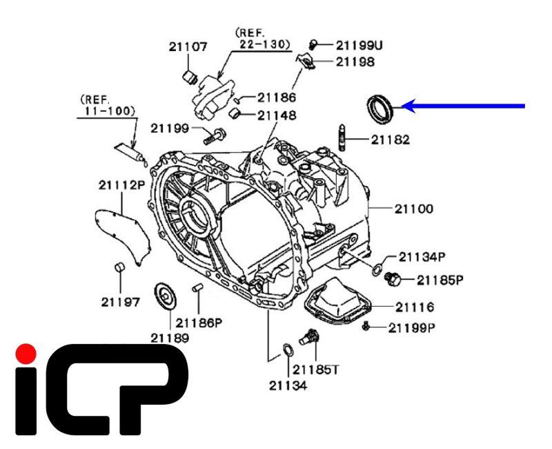 Mitsubishi Lancer Evo 4 5 6 7 8 9 Front Outer Driveshaft